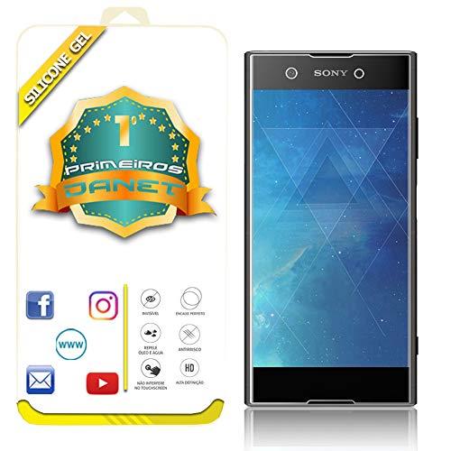 Película De Gel Silicone Flexível Para Sony Xperia Xa1 Plus Tela 5.5- Proteção Que Adere E Cobre Toda A Tela - Danet