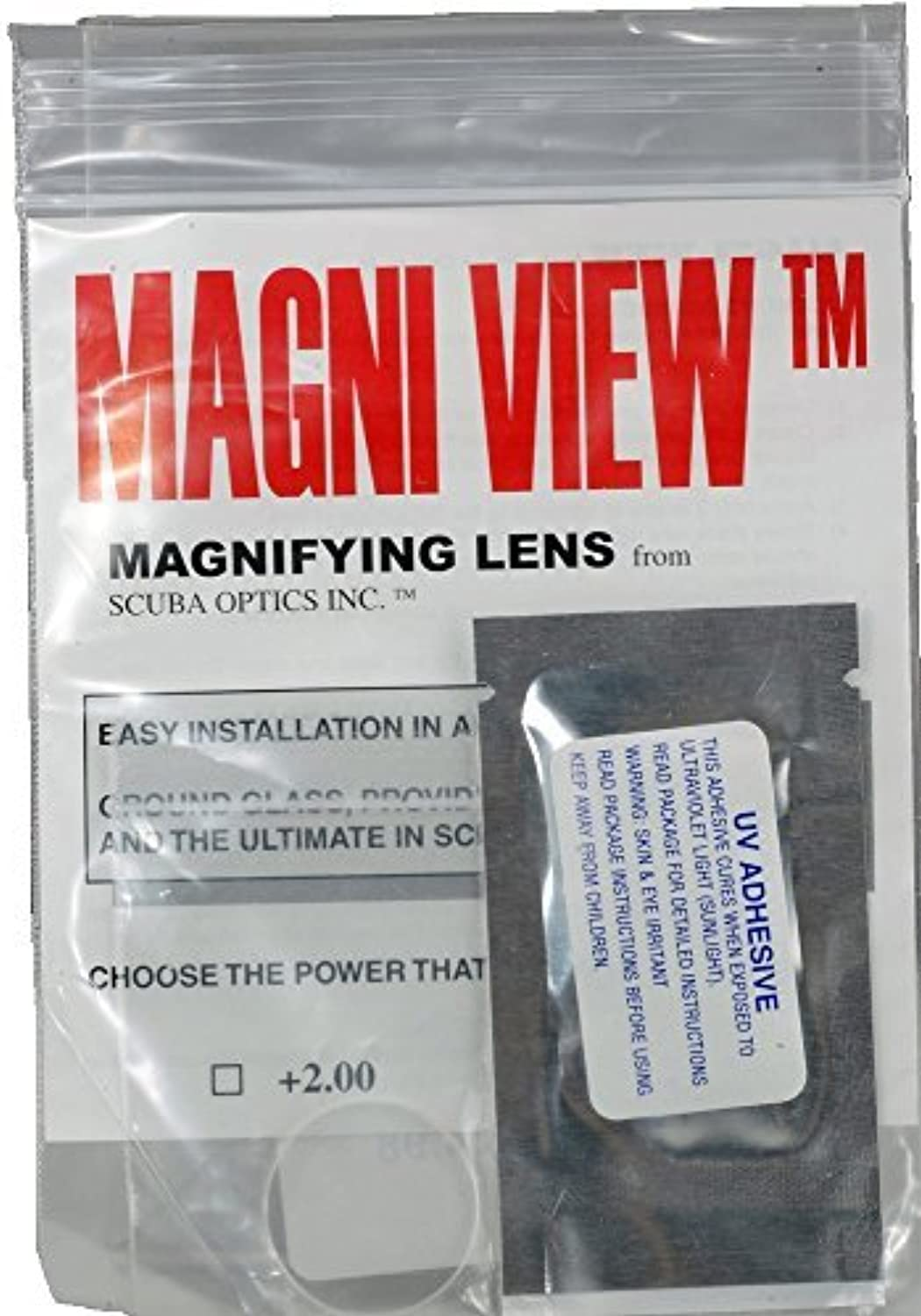 MAGNIVIEW 3x Mask Magnifying Lens Great for Scuba Divers and Water Sports