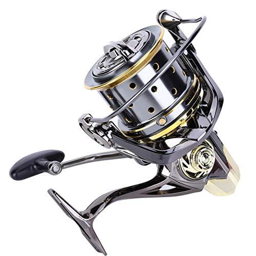 DAUERHAFT Carrete Profundo de la Pesca del Carrete de la Pesca en mar del Carrete del Metal, para el Tiro Largo(GX8000)