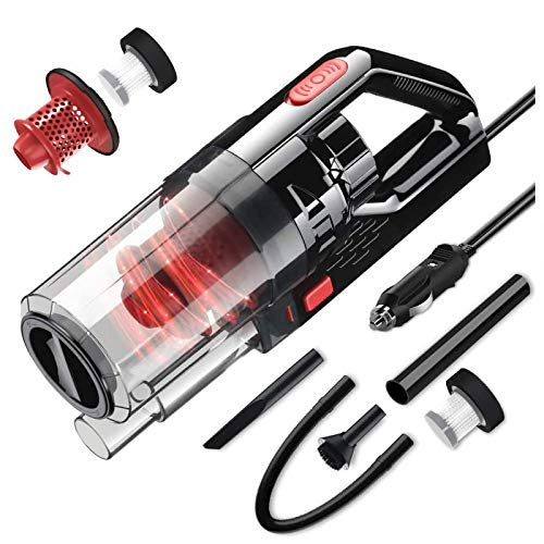 SONRU DC12V Corded Handheld Car Vacuum Cleaner