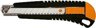 Fiskars Nóż tnący z metalową prowadnicą, 18 mm, Pomarańczowy / czarny, 1003749