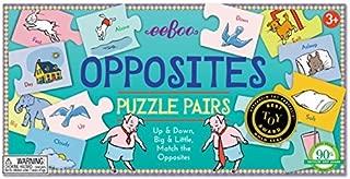 eeboo Opposites Puzzle Pairs by eeBoo