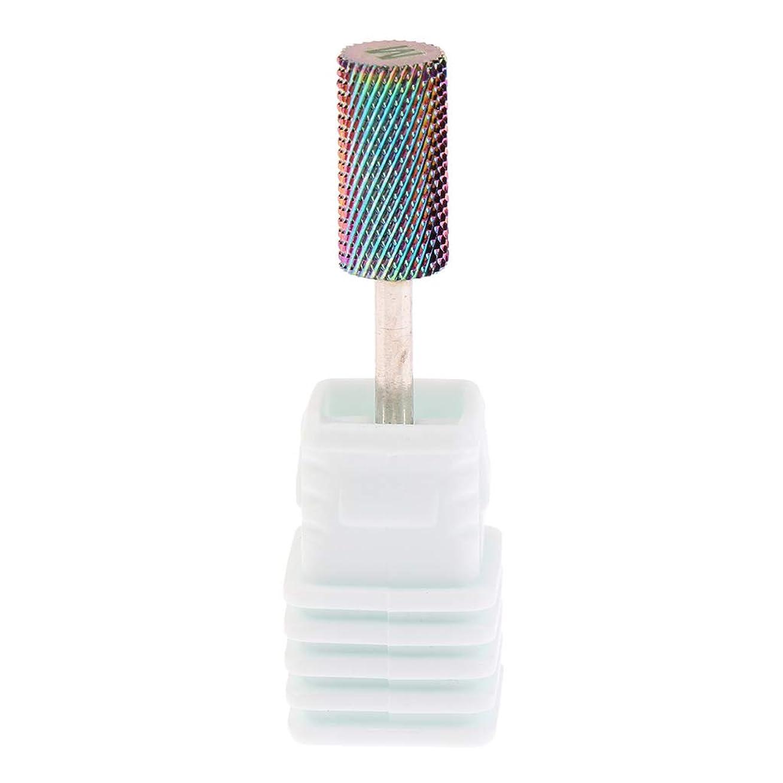貢献するとにかくなすPerfeclan 全6サイズ 電気ネイルドリルビット ネイル研削ヘッド 超硬 釘 穴あけツール - M