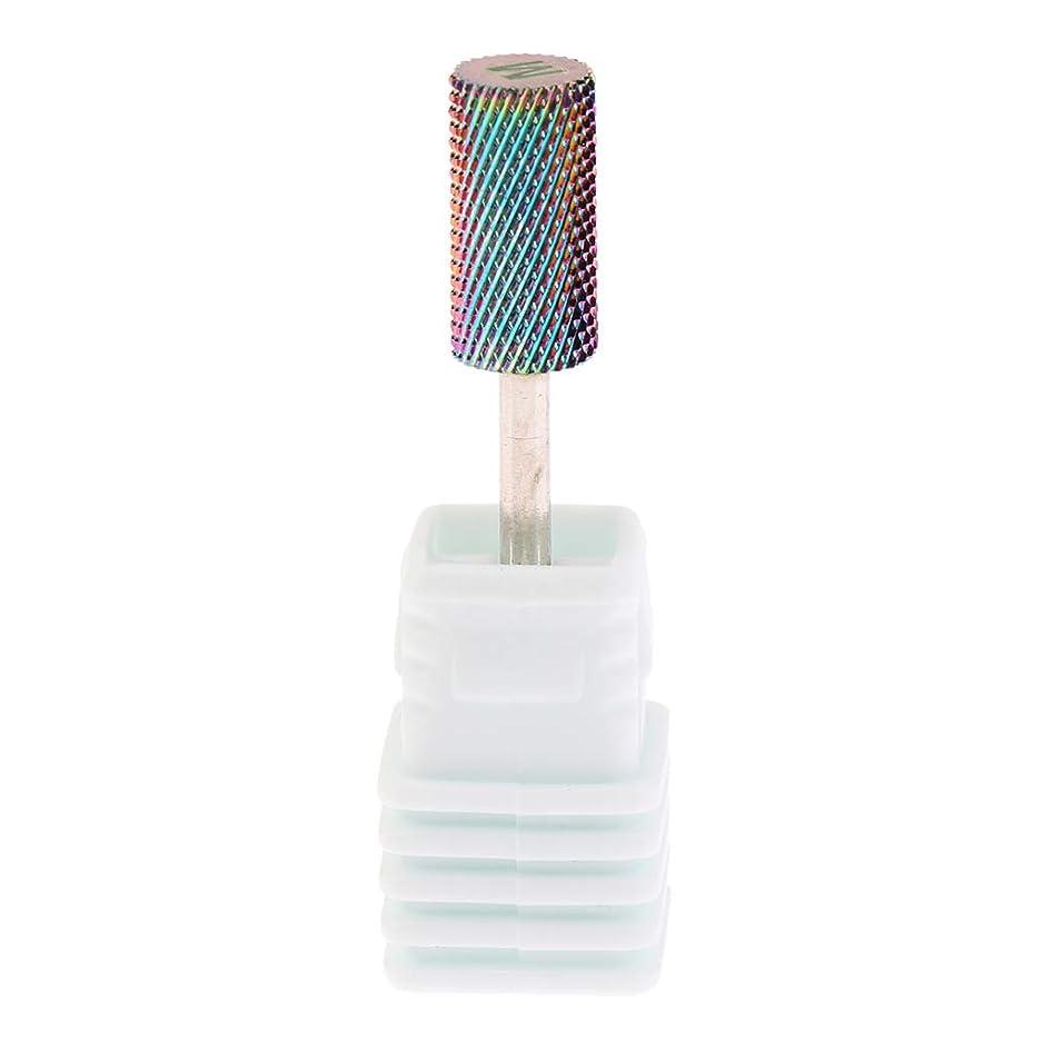 革新ルーム存在するPerfeclan 全6サイズ 電気ネイルドリルビット ネイル研削ヘッド 超硬 釘 穴あけツール - M