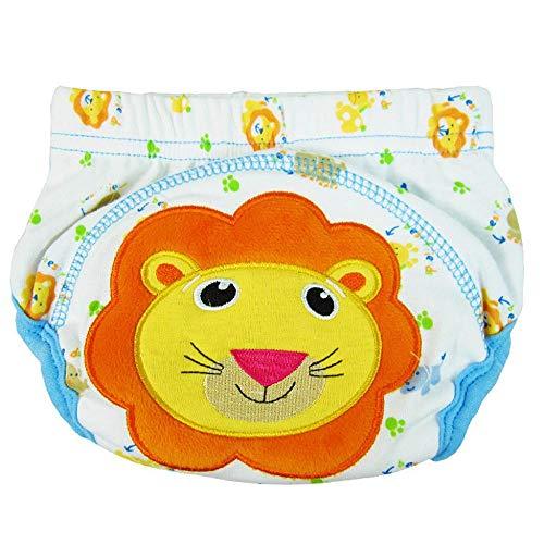VJGOAL Niños Braguitas de Aprendizaje Pañales Pantalones de Entrenamiento de algodón Ajustables Reutilizables Lavable Bragas Bordados Ropa Interior Bebés de 0-3 años