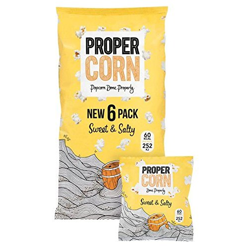 Propercorn Sweet & Salty Multipack 6 x 14g