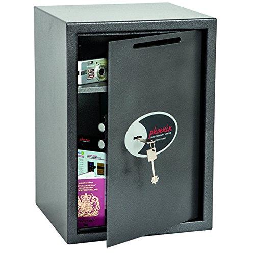 Phoenix SS0804KD Vela Deposit Home & Office Safe mit Schlüsselschloss (groß)