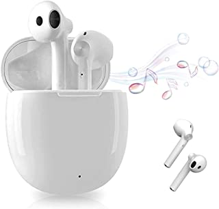 Wireless Earbuds Bluetooth,Wireless Headphones Support 24H Playtimewith with Fast Charging Case/Stereo Mic Headphones,Touc...