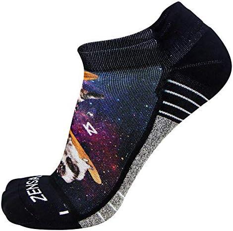 Anti-Blister Comfortable Moisture Wicking Sport Socks for Men and Women Zensah Limited Edition No-Show Running Socks