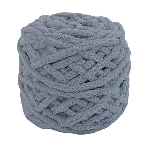 ukYukiko Donker Grijs DIY Sjaal Towel Jas Dikke Garen 95g 7mm Diameter Breien Chunky Handdoek Garen Bal