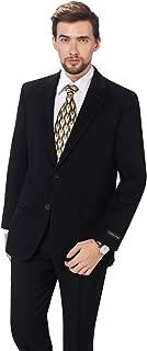 Men's Premium Wool Blend Business Blazer Dress Suit Jacket