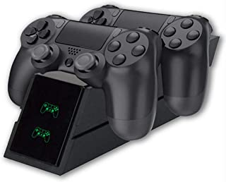PS4 Controller Charger Stand Dual Charging Station Status Display Screen for Playstation 4 Slim/PRO Handle