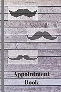 Barber Appointment Book: Appointment Book for Salons, Spas, Hair Stylist, Beauty, Barber,Appointment Book with Times Daily and Hourly Schedule ( Book 15 Minute)