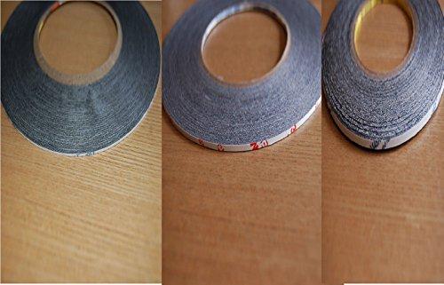 Echte 3M 9448AB 1mm, 2mm und 3mm X 50 Meter Doppelseitig Extrem Stabile Klebeband Für Handy Reparatur