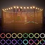LED Fitness Trampoline Lights,6ft 8ft 10ft 12ft Trampoline Light ,Remote Control...
