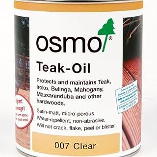 Osmo 007-Öle, Holz Teak-Öl, 0,75 l, transparent