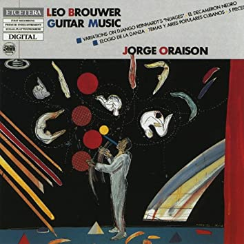Leo Brouwer, Guitar music, Variations on Django Reinhardt's 'Nuages' and others