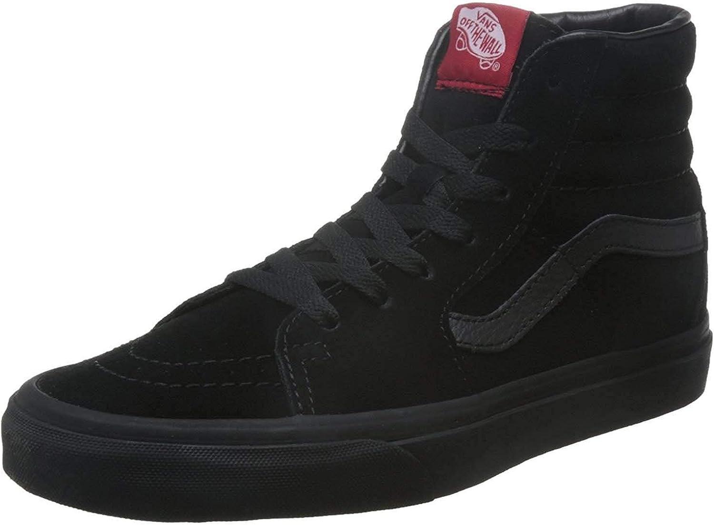 Complete Free Shipping Vans VD5IBKA Opening large release sale Unisex SK8-Hi Shoes Black Skate Suede