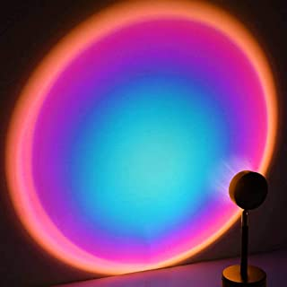 Sponsored Ad – Sunset Red Projection Lamp,180 Degree Rotation Projection Lamp Led Light, Romantic Visual Mood Lighting Lam...