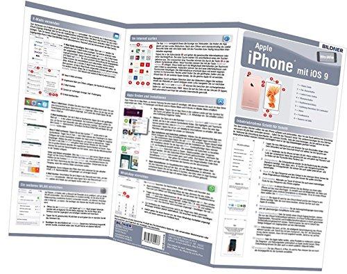 Apple iPhone - der leichte Einstieg: Alles auf einen Blick. Besonders für Senioren geeignet. (Wo&Wie / Die schnelle Hilfe)