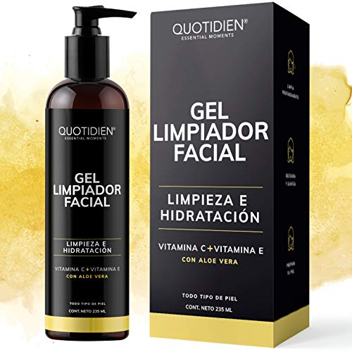 Limpiador Facialelectronico Miniso marca QUOTIDIEN ESSENTIAL MOMENTS