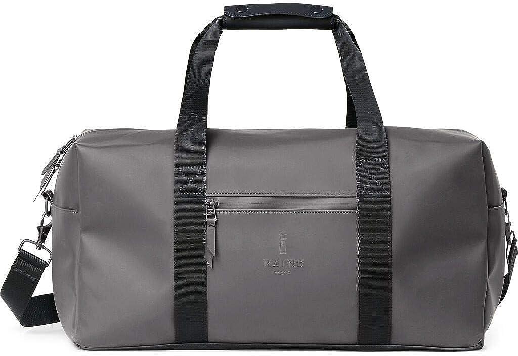 RAINS Mod Gym Bag Sac De Voyage Imperm/éable Unisexe Noir