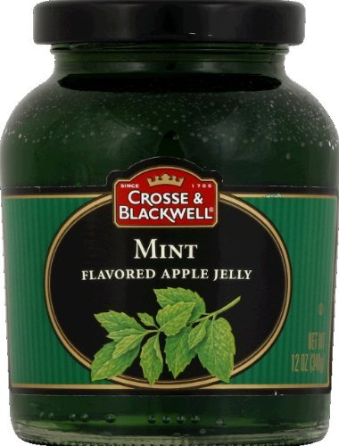 Pack of (2) Crosse & Blackwell Mint Flavored Apple Jelly, 12 Oz