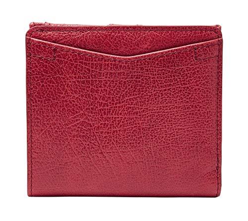 FOSSIL Caroline Mini Wallet RFID Red Velvet