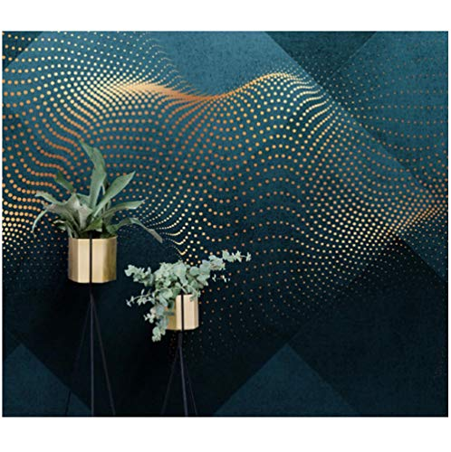 Behang sticker, behang, stippen, goud, behang, abstract, minimalistisch behang, waterdicht, hotel restaurant, tv-achtergrond slaapkamer