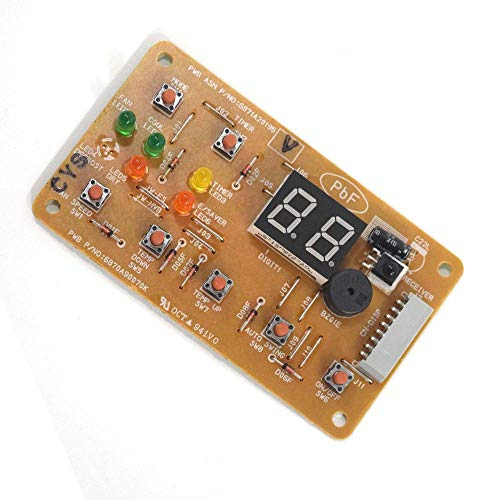 Lg 6871A20195V Room Air Conditioner Electronic Control Board Assembly Genuine Original Equipment Manufacturer (OEM) Part
