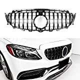 GT R AMG Style Grill Grille Front Bumper for...