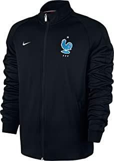 2017-2018 France Authentic N98 Jacket (Black)