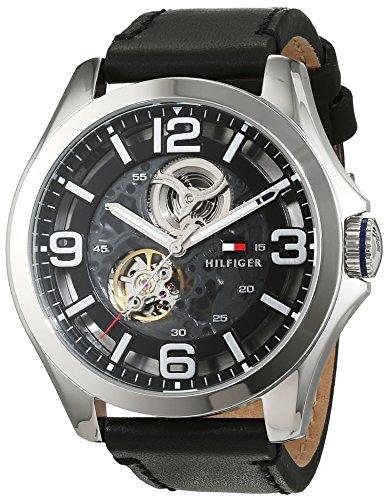 Tommy Hilfiger Herren-Armbanduhr Sophisticated Sport Analog Automatik Leder 1791279