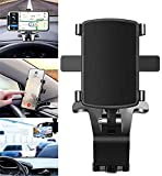 Spida Mount - Universal Phone Clip 360° Rotation for 3-7 Inch Smartphones, Car Phone Mount Holder, Cell Phone Automobile Accessories