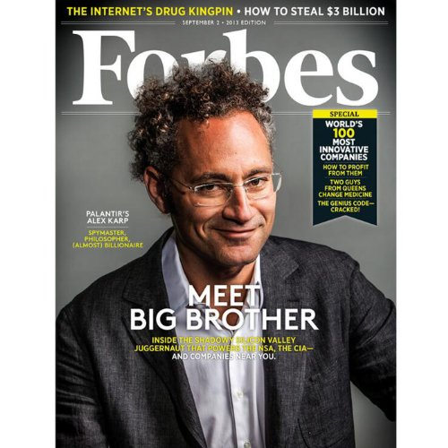 Forbes, August 19, 2013 cover art