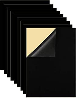 Mesheshe 10PCS Self Adhesive Felt Fabric, Soft Velvet Drawer Liner, DIY Velvet Fabric for Art & Crafts, Jewelry Box Felt L...