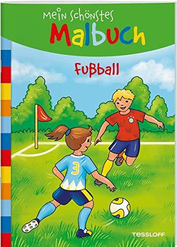 Mein schönstes Malbuch. Fußball: Malen für Kinder ab 5 Jahren (Malbücher und -blöcke)