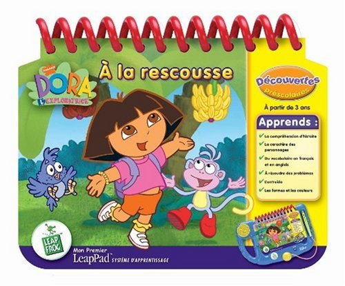LeapFrog - Mon Premier LeapPad - Livre : Dora l'Exploratrice à la rescousse (Nickelodeon)