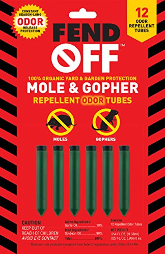 FEND OFF AGM-12 Mole and Gopher Repellent, 12 Pack