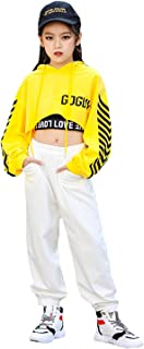 LOLANTA zestaw odzieży hip-hop dla dziewcząt, sportowy strój do tańca ulicznego