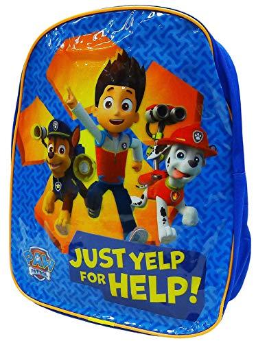 Get Wivvit Jungen Mädchen Tasche Verschiedene Charakter Schulrucksack Schwimmen Rucksack Mittagessen Reise - Paw Patrol Orange, Paw Patrol Orange