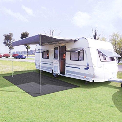 LXDDP Tapis d'auvent, Tapis Tapis en Maille Tente pour Camping en Plein air, Protection Anti-dérapante pour Gazon/Gazon, en Maille Tissu, 250x500 cm