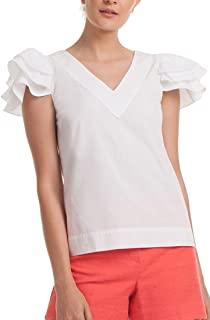 Women Shasta Top - White - S