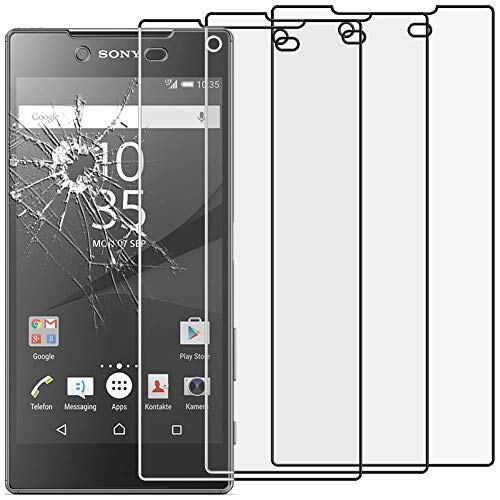 ebestStar - kompatibel mit Sony Xperia Z5 Premium Panzerglas x3 Z5 Prime Schutzfolie Glas, Schutzglas Bildschirmschutz, Bildschirmschutzfolie 9H gehärtes Glas [Phone: 154.4 x 75.8 x 7.8mm, 5.5'']