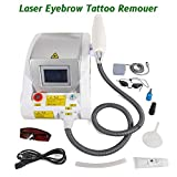 Tattoo Eyebrow Hair Removal Machine Q Switch ND YAG Eyebrow Tattoo Machine Whitening Blackhead Beauty Machine Remover 110/220V US Stock