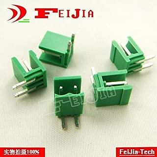 Davitu (50pcs/lot) HT3.96-4P Bend Pin Screw Terminal Block Connector 3.96mm Pitch 4 Pins Socket