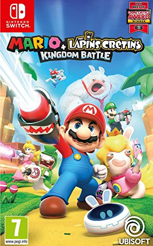 Mario + The Lapins Crétins: Kingdom Battle [Importación francesa]