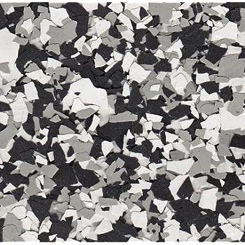 VCPBLDGRBL American Abrasive Supply Vinyl Chip Blend Blue Blend 1//4