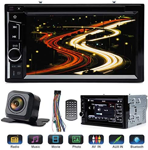 Double Din Car Radio with Reverse Camera for Ford F250 Super Duty 2004 2016 with Mirrorlink product image