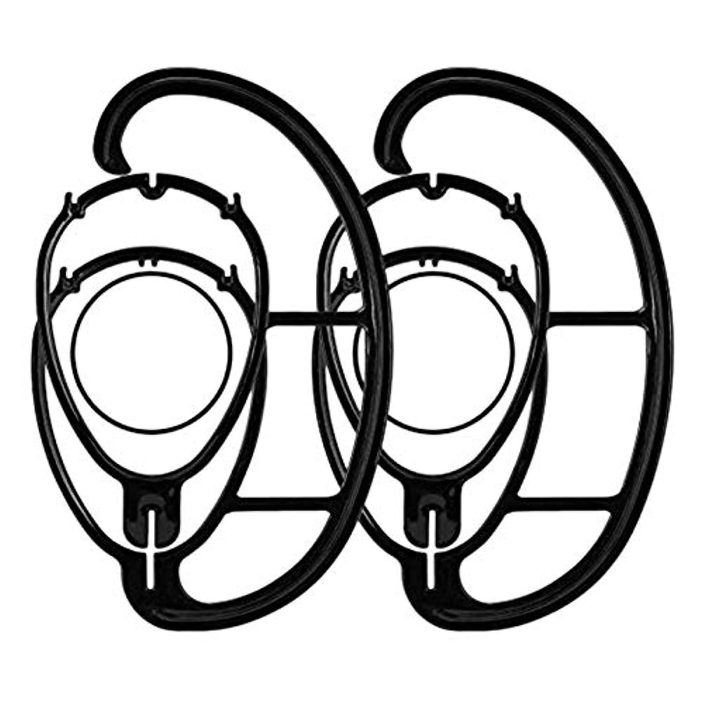髄抹消経験者CUHAWUDBA 2パック ウィッグハンガー ポータブルハンギングウィッグスタンド すべてのウィッグと帽子用 折りたたみウィッグドライヤー 耐久性のある ウィッグスタンドツール ホルダーハットとキャップホルダー